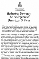 Gathering Strength: The Emergence of American Shi'ism